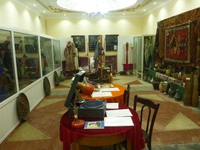 Amet and Ayimxan Museum in Nukus, Karakalpakstan