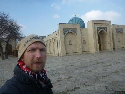 Backpacking in Tashkent: I liked it.