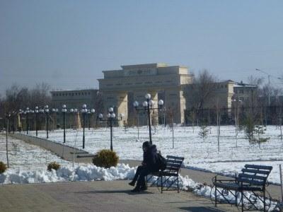 Independence Park, Shymkent