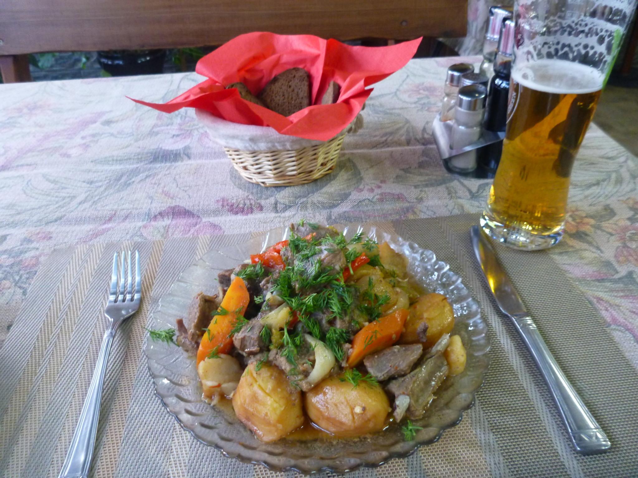 Friday's Featured Food: Wild Boar Roast at Orbita Boutique Hotel in Shymkent, Kazakhstan
