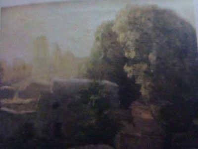 "A photo of the painting ""Khiva at First Light"" (no photos allowed)"