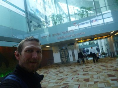 My first real arrival into New Delhi, India in 2016