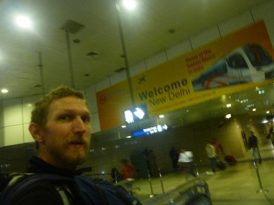 I'm in New Delhi, India