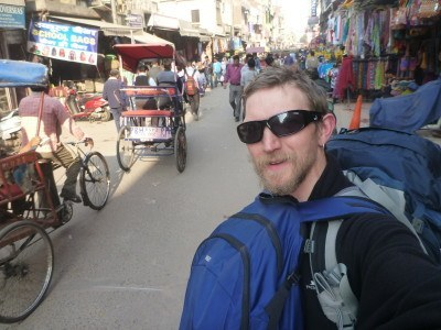 Backpacking in Delhi, India