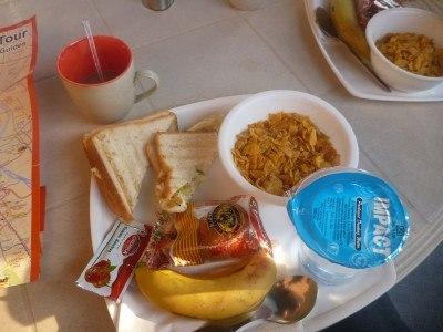 Excellent free breakfast