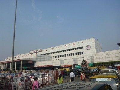 New Delhi Train Station, India