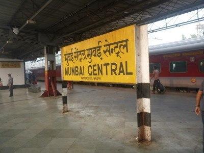 Arrival in Mumbai, India