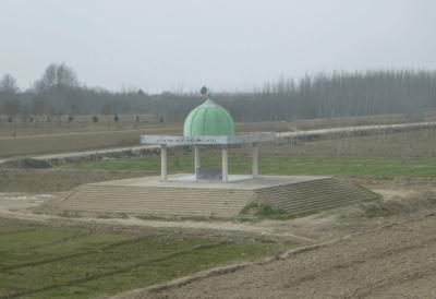 Tomb of famous scholar Mullah Mohammed Jon