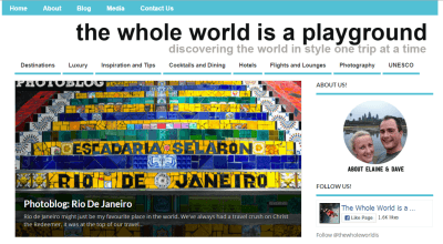The whole world is a playground by Elaine McArdle