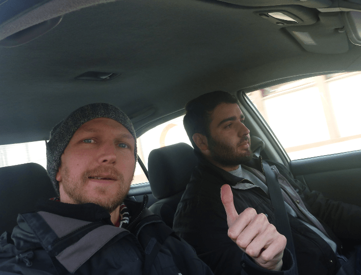 With Shoukrouh my driver