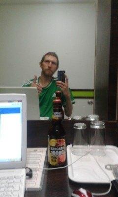 Kangaro 10000 beer in Hotel Formule 1