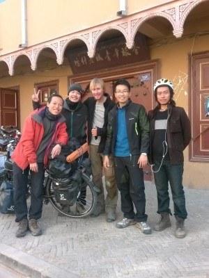 Backpacking Buddies: Michel Reca the German Cyclist