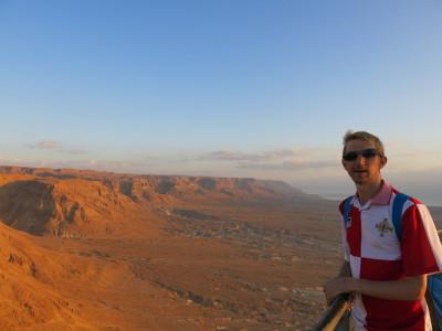 Sunrise in Masada, Israel