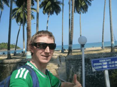 My private beach in Port Blair