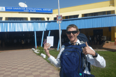 Jonny Blair in Port Blair Andaman Islands