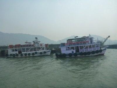 The trip to Elephanta Island