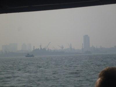 Copying Palin's arrival into Mumbai
