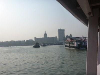 Coming into Mumbai