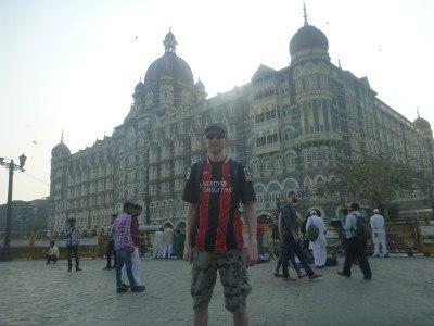 Backpacking in Mumbai - Taj Mahal Palace Hotel Palin-esque.