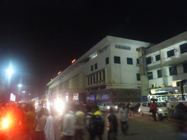 The madness of Ahmedabad at night