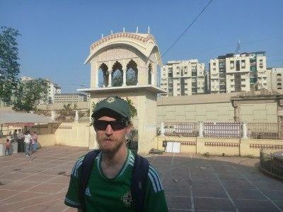 Iskon Temple in Ahmedabad