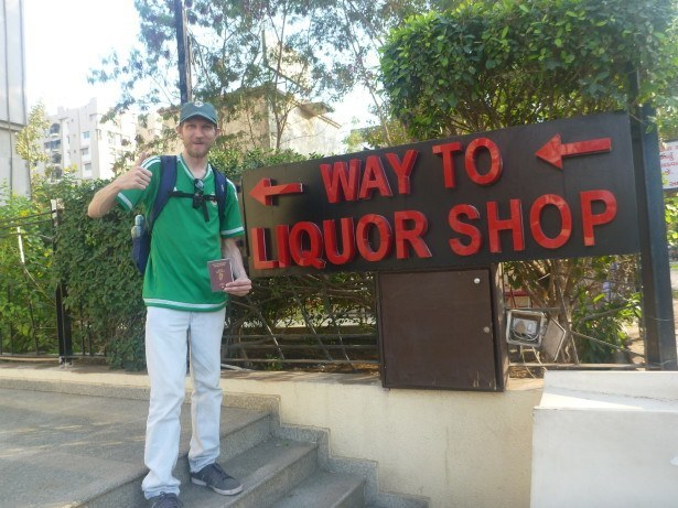 Off to the Liquor Shop in Ahmedabad!
