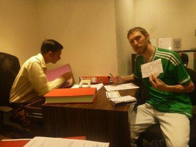Getting my alcohol permit in Ahmedabad, Gujarat.