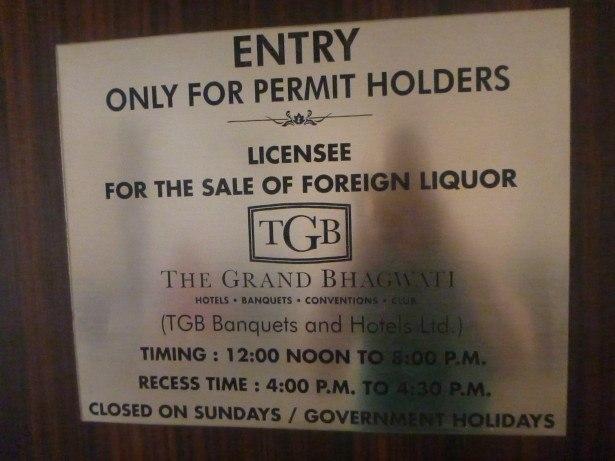 Opening Hours of The Grand Bhagwati