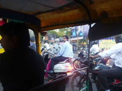 Chaotic madness of Ahmedabad.