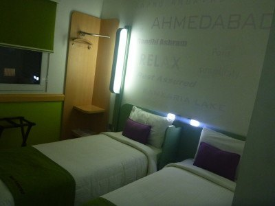 Backpacking in India: Staying at the Hotel Formule 1 in Ahmedabad, Gujarat State