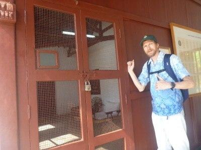 Sabarmati Ashram - knock knock knocking on Gandhi's door