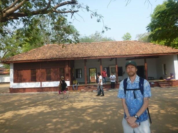 Touring Gandhi's House in Gujarat State