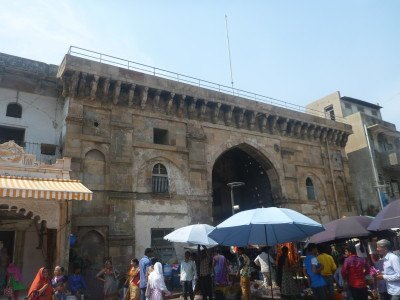 Markets by Bhadrakali Temple