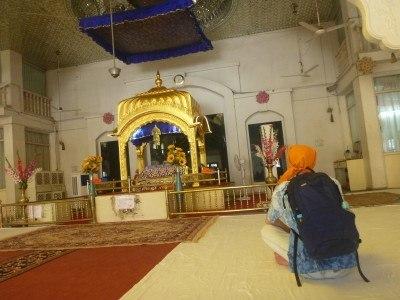 Feeling spiritual at Gurudwara Gobinddhan