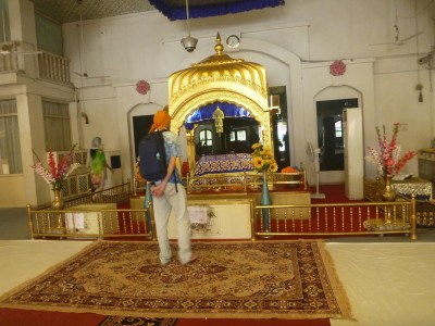 At one with the Goddess: Gurudwara Gobinddhan