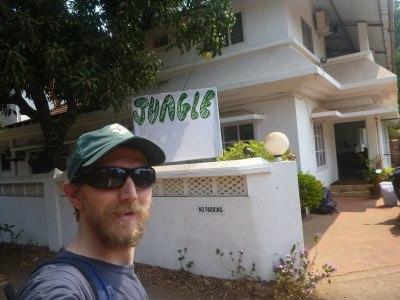 Jungle Hostel, Vagator Beach, Goa, India