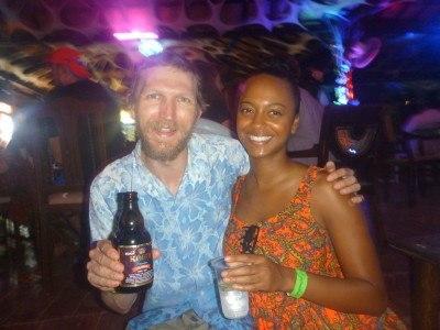 Cristina and I