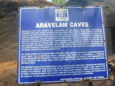 Aravelam Caves