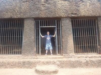 Touring Aravelam Caves