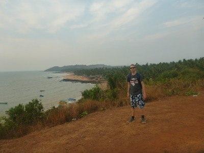 Backpacking in Goa - Anjuna Beach