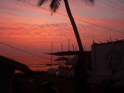 Sunfall in Goa