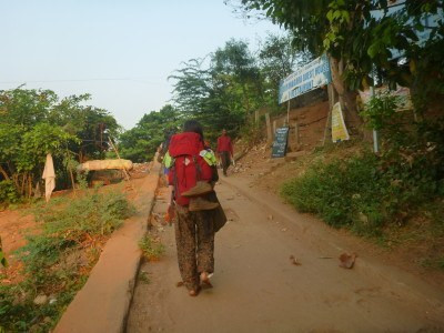 Backpacking in Hampi