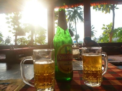 Cold beers for sunset