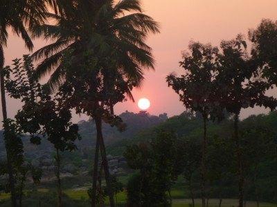 Sunset in Virapapuradaddi