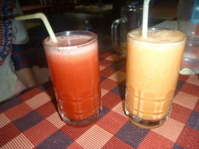 Fruit juices at Mowgli