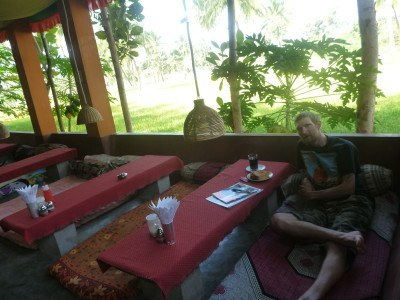 Breakfast at Mowgli Guest House