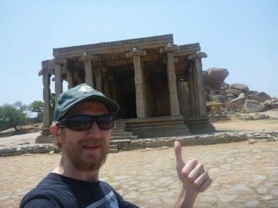 Touring the UNESCO World Heritage Site at Hampi