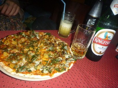 Pizza at Mowgli