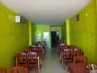 Downstairs restaurant