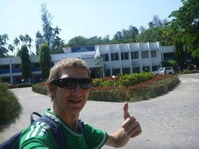Arrival at the Peerless Sarovar Portico Resort